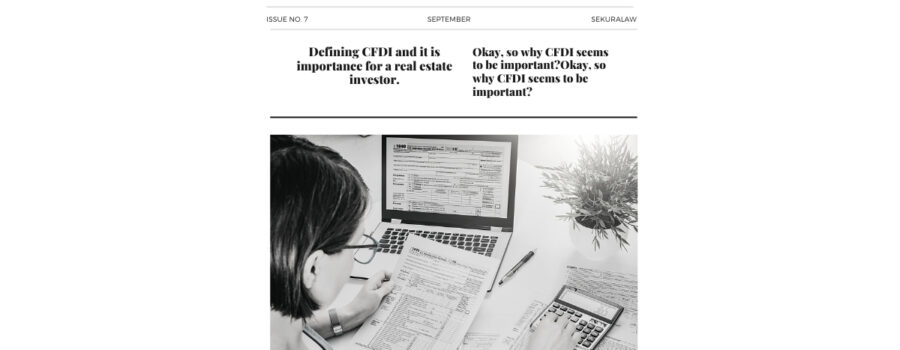CFDI Real Estate by Stephanie de la Millar